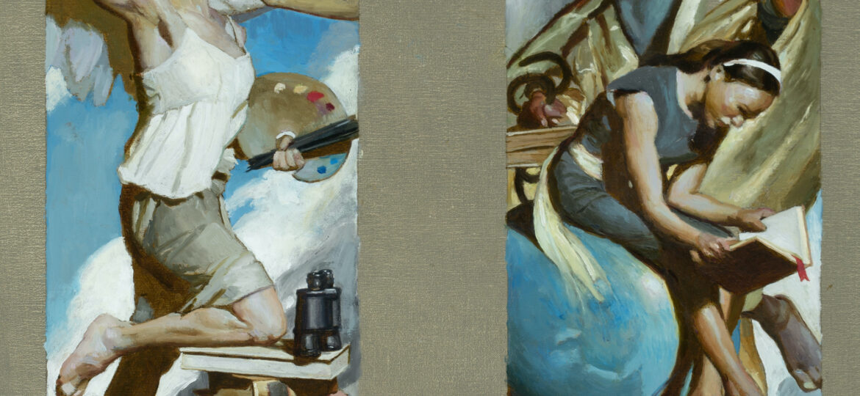 Noah Buchanan 1 Library Doors Color Study 1