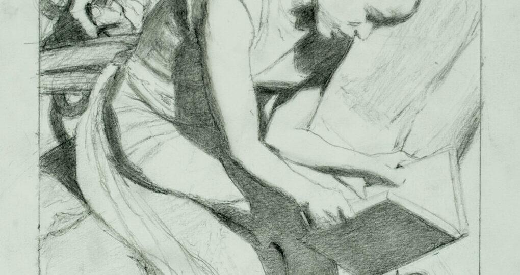 Noah Buchanan 6 Compositional Drawing 3