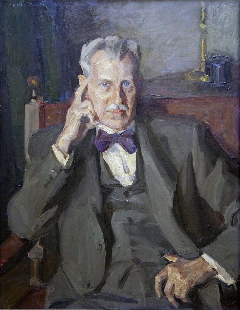 Louis Betts (1873-1961) [H NRA 1956-1961] : Presidential portrait of Percy Frederick Albee (1883-1959) [H NRA 1946-1959], 1960.