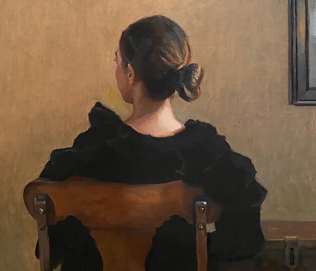 """(From 2021) Jane Manco, """"Evening in the Drawing Room"""""""